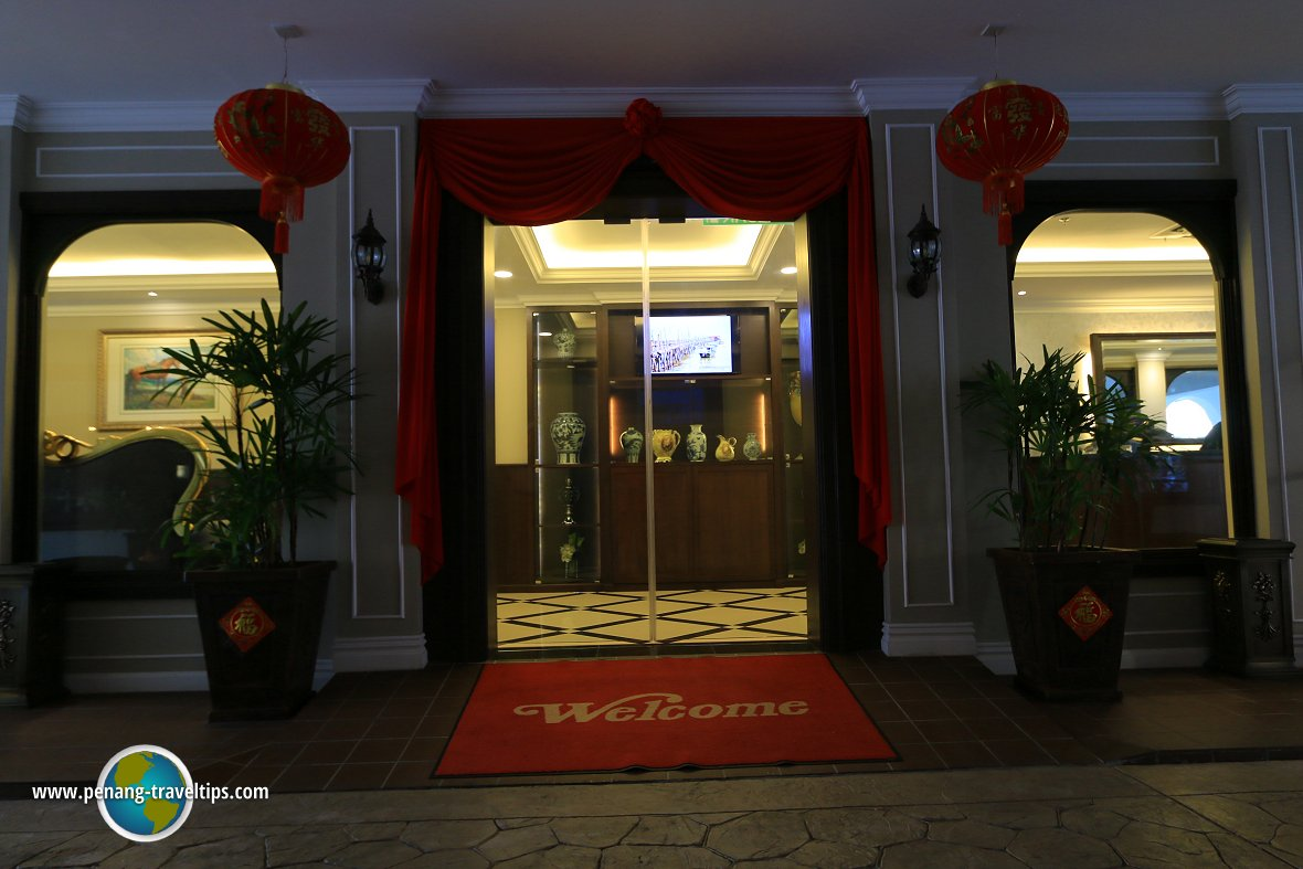 Kimberley Hotel entrance
