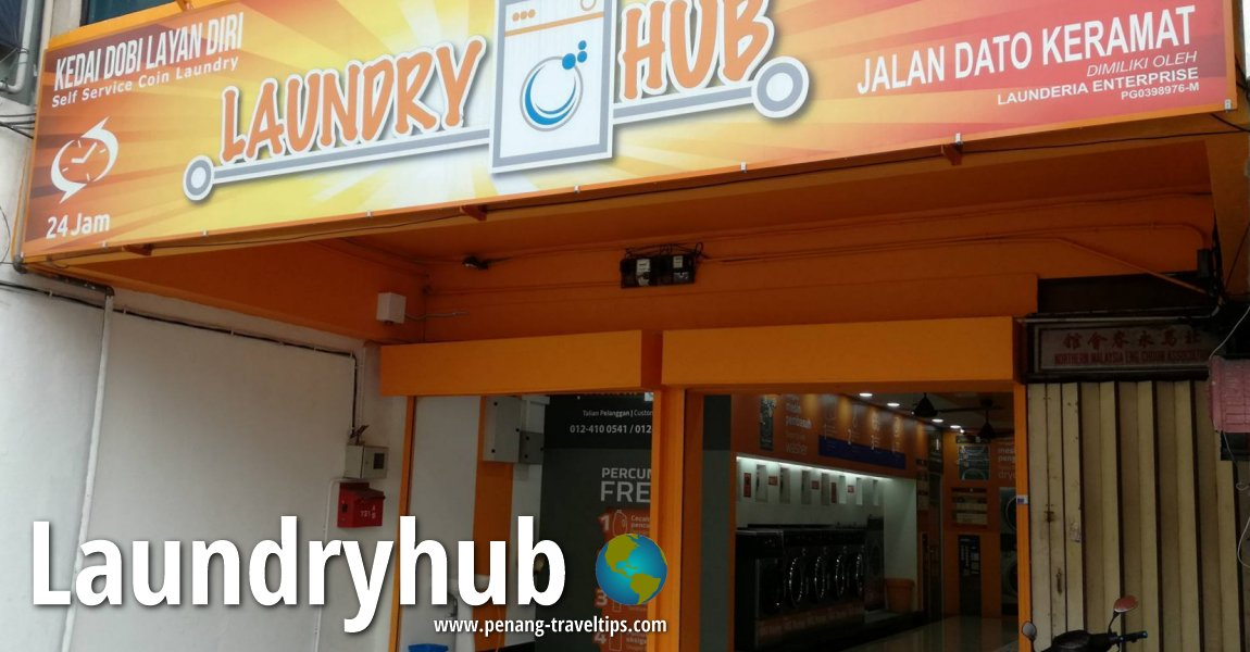 Laundry Services and Laundrettes in Penang