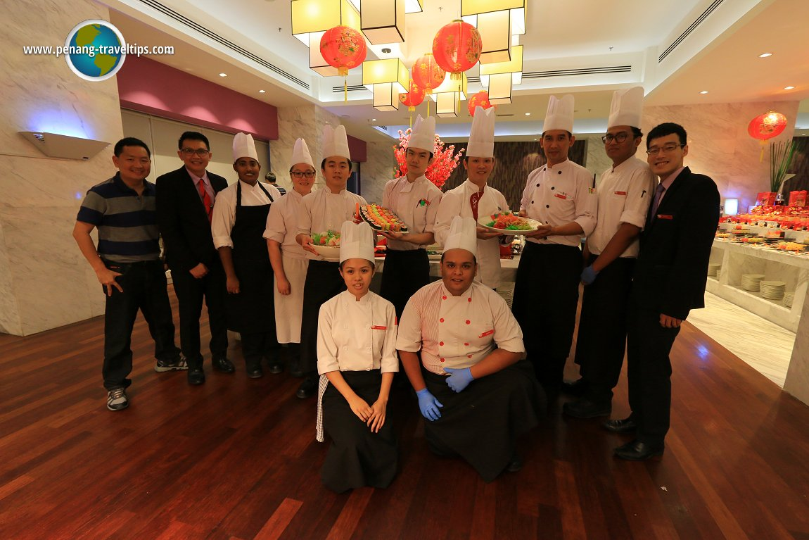 Group Shot with Lexis Suites Penang Restaurant Team