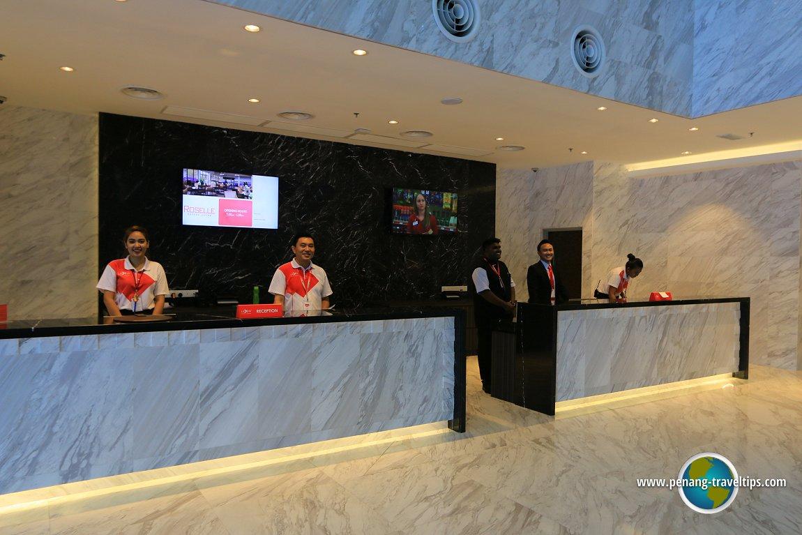 Lexis Suites Penang Reception