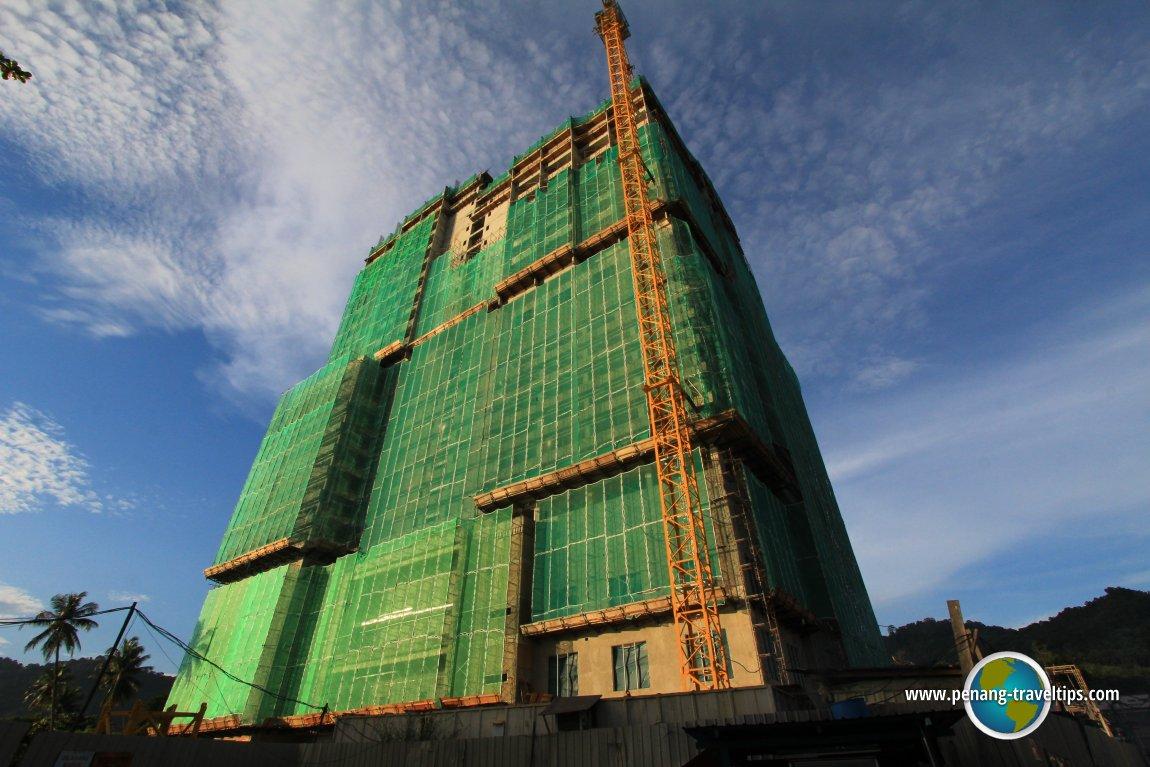 Lexis Suites Penang under construction