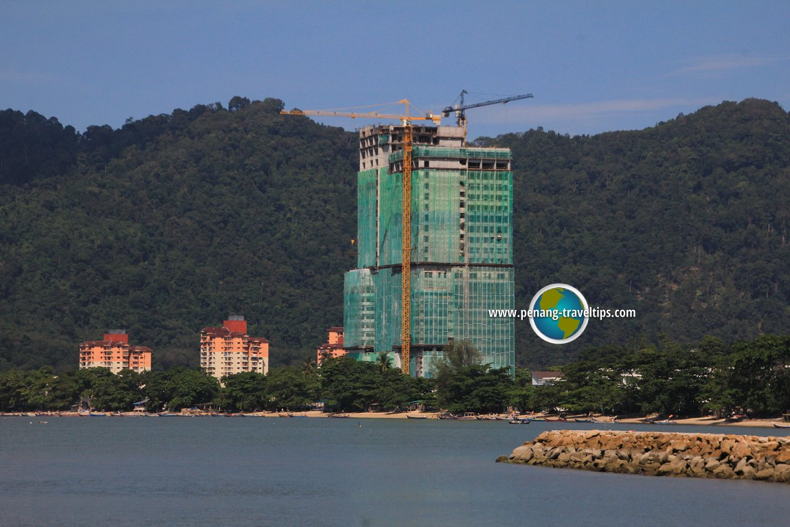View of Lexis Suites Penang from Bayu Bay