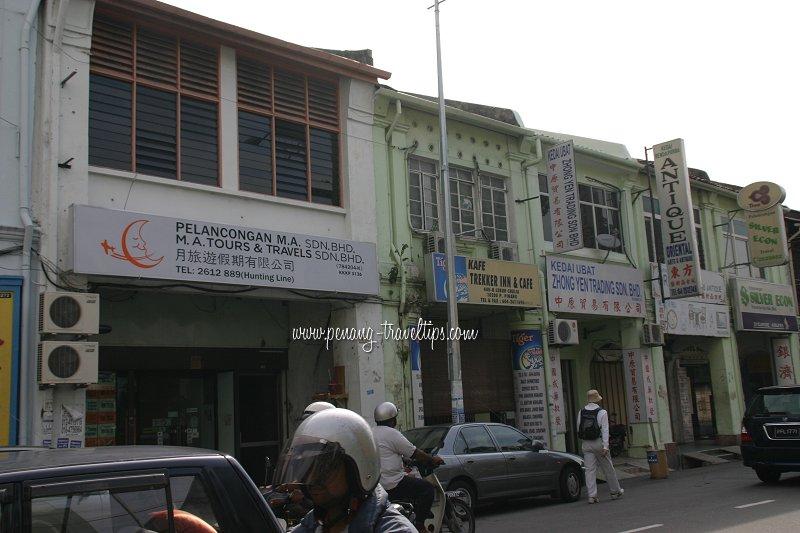 M.A. Tours & Travels Sdn Bhd, Chulia Street