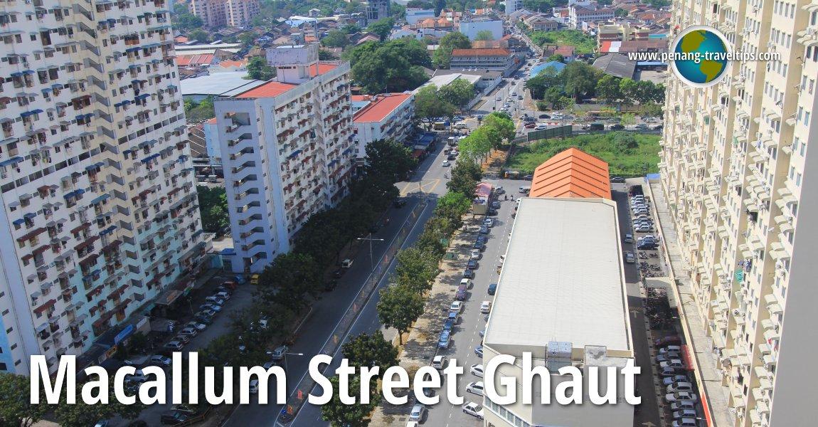 Macallum Street Ghaut, George Town