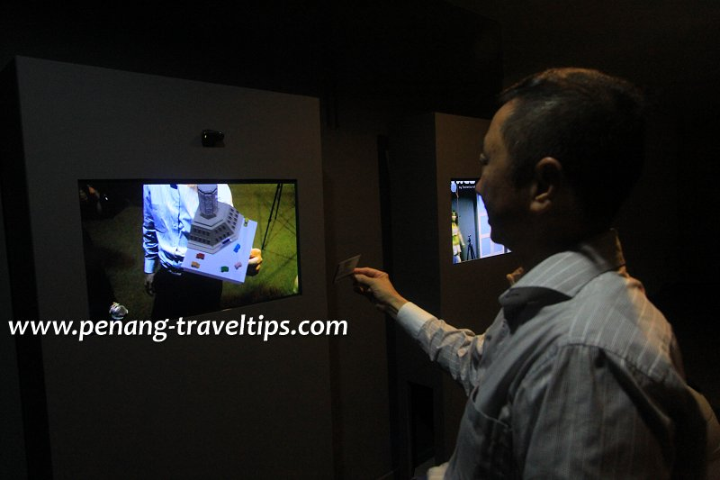 Made In Penang 3D Interactive Screen