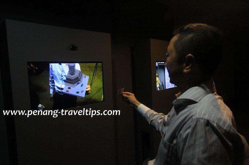 Made In Penang 3D Interactive Screen