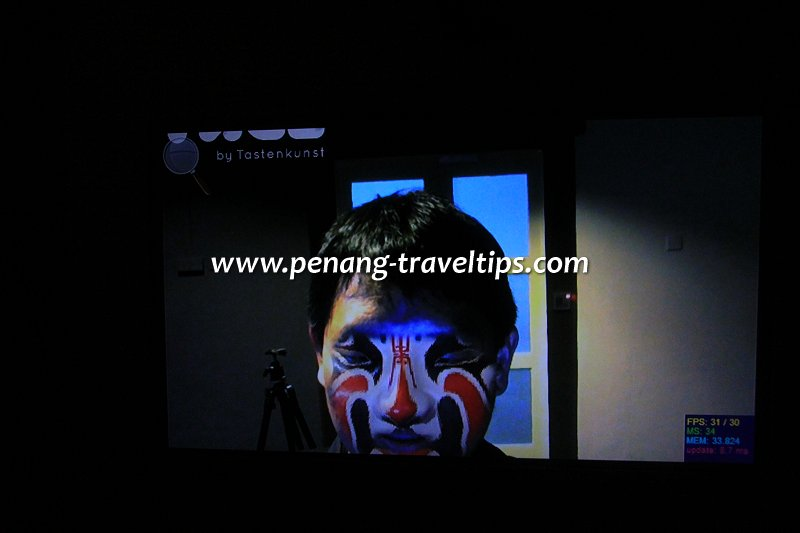 Made In Penang interactive Sichuanese Opera mask