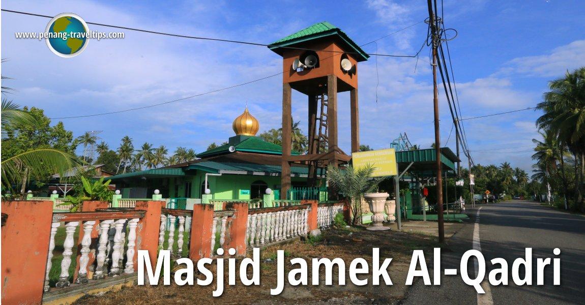 Masjid Jamek Al-Qadri, Permatang Pauh
