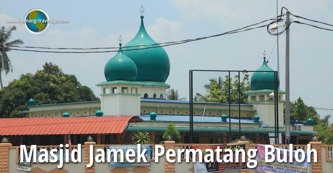 Masjid Jamek Permatang Buloh