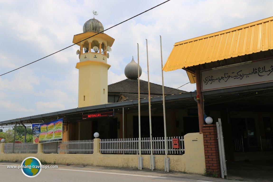 Masjid Tuan Haji Abdul Latif, Permatang Pasir