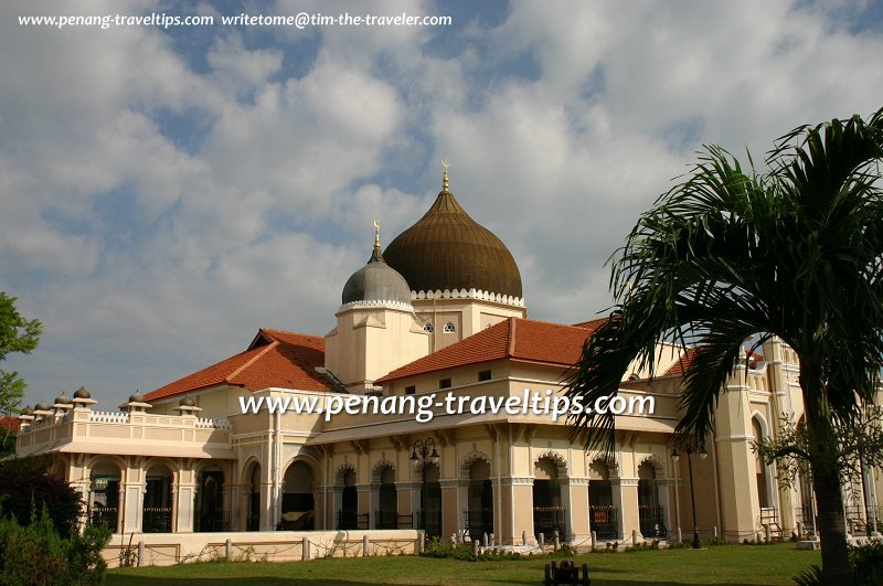 Masjid Kapitan Keling, Pitt Street, Penang