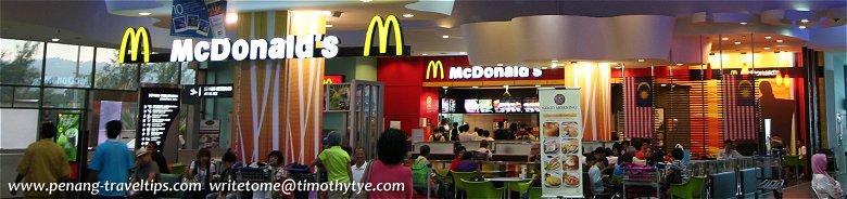 McDonald's Restaurants in Penang
