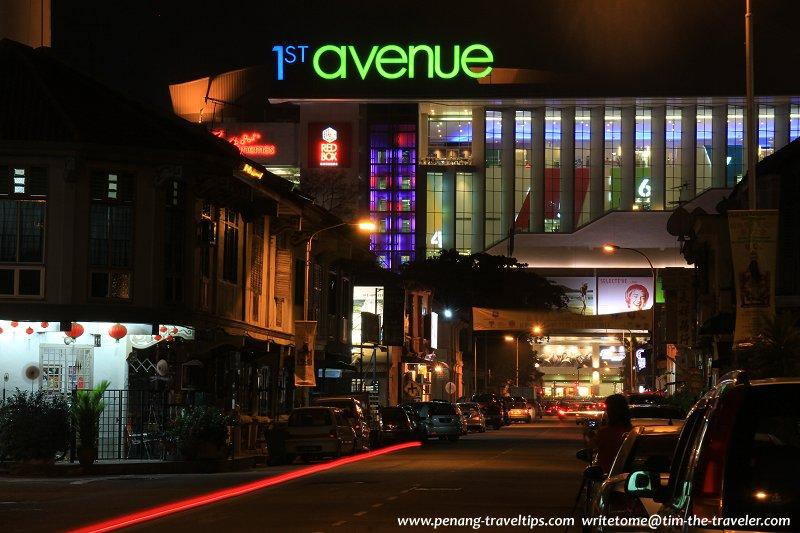 McNair Street at night