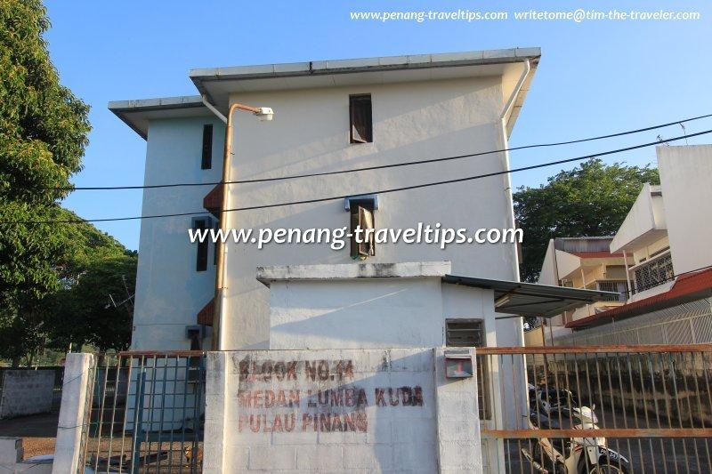 Block 14, Medan Lumba Kuda Flats