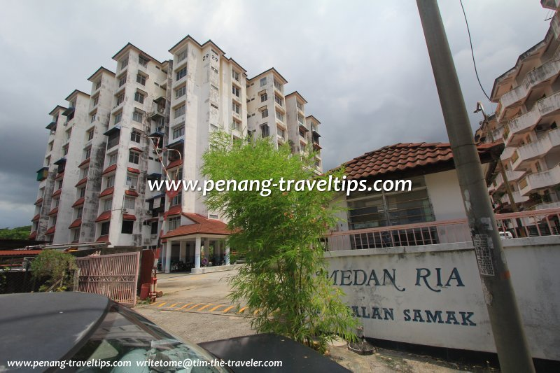 10-storey block, Medan Ria Apartment