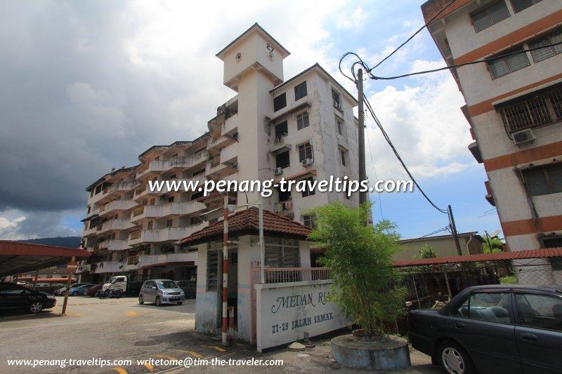 6-storey block, Medan Ria Apartment