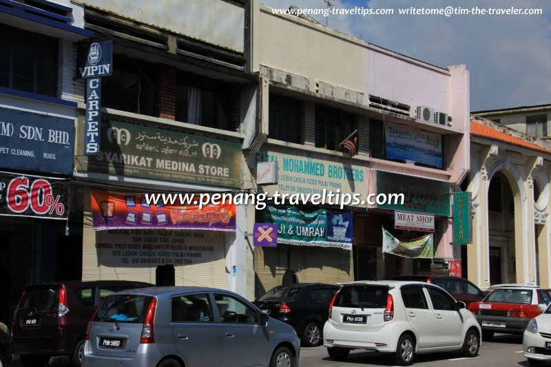 Clothes and Textile Shops in Penang