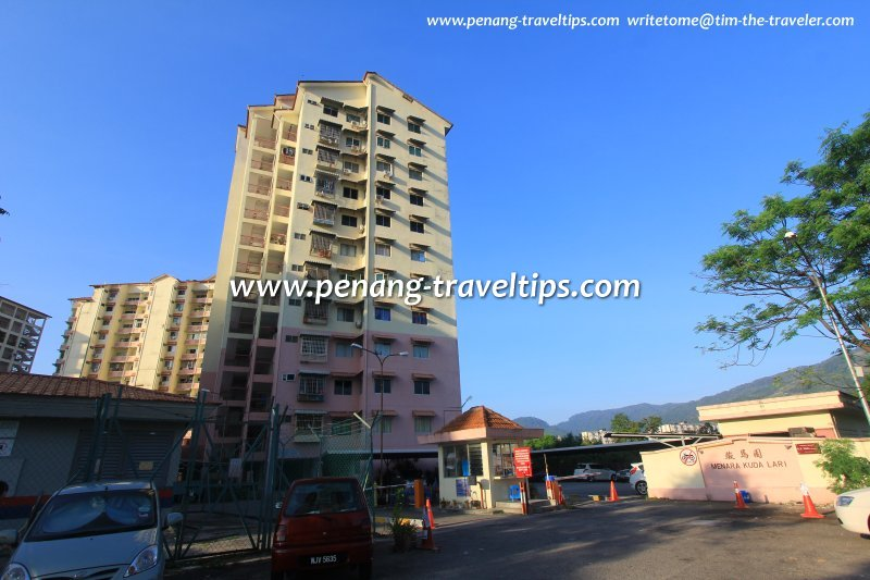 Menara Kuda Lari, Batu Gantong, Penang