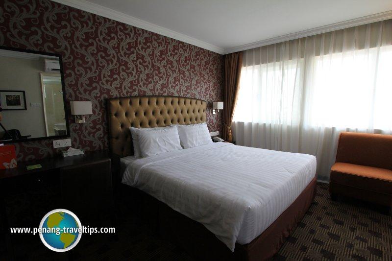 Deluxe Room, Merchant Hotel Penang