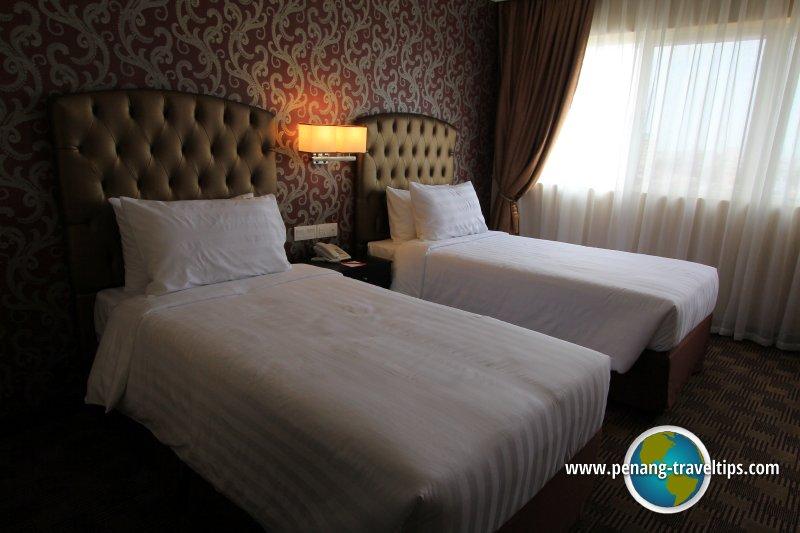 Superior Twin Room, Merchant Hotel Penang