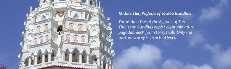 Middle Tier, Pagoda of 10,000 Buddhas