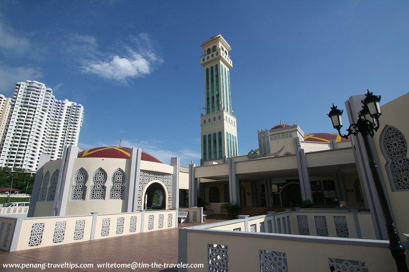 Minaret of the Tanjung Bungah Floating Mosque