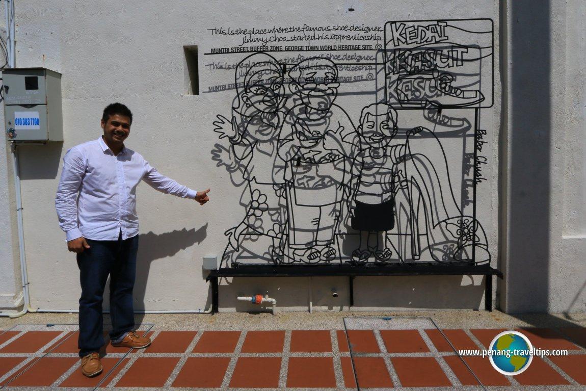 Monsak Ja Singh & Jimmy Choo Sculpture