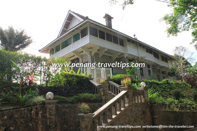 Moy Craig, one of the most beautiful bungalows on Penang Hill