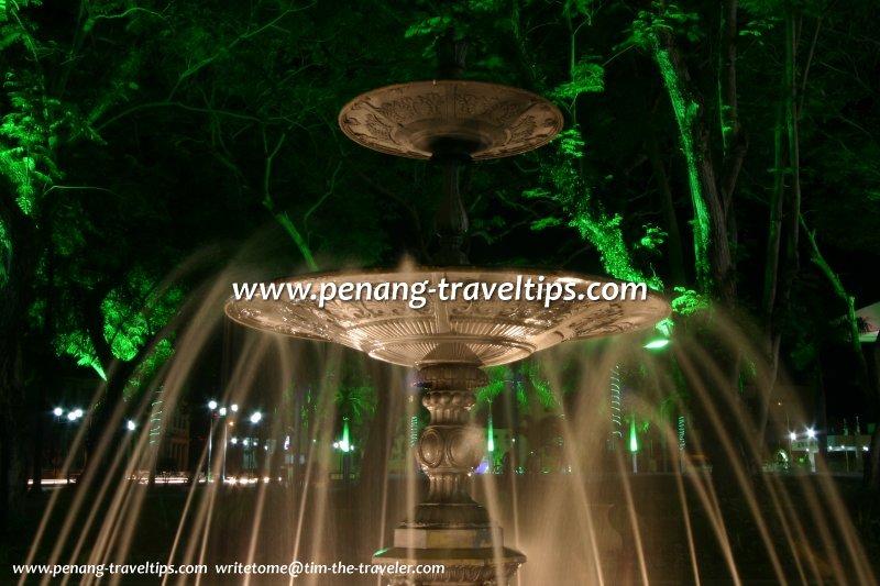Municipal Fountain at night