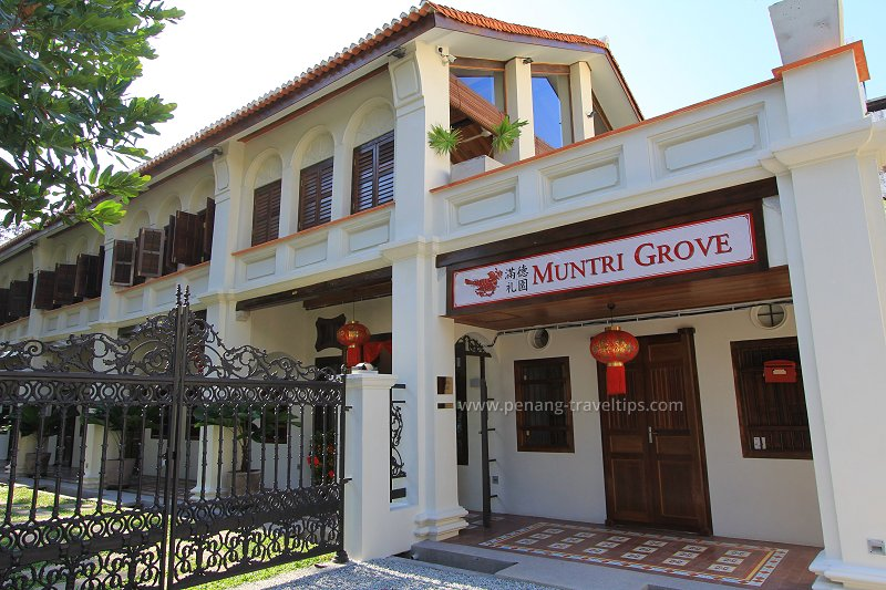 Muntri Grove, George Town, Penang