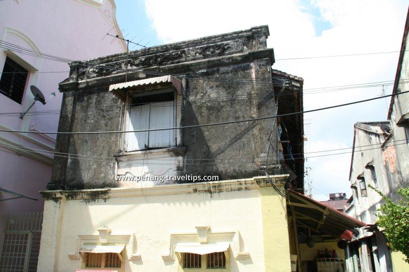 Muntri Mews before restoration