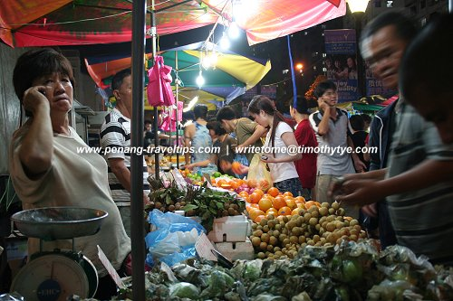 Night Market in Penang