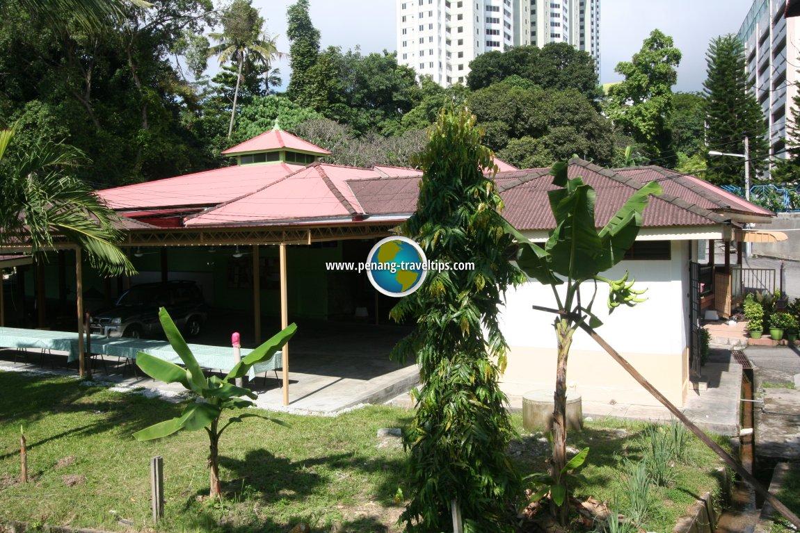 The old Batu Uban mosque