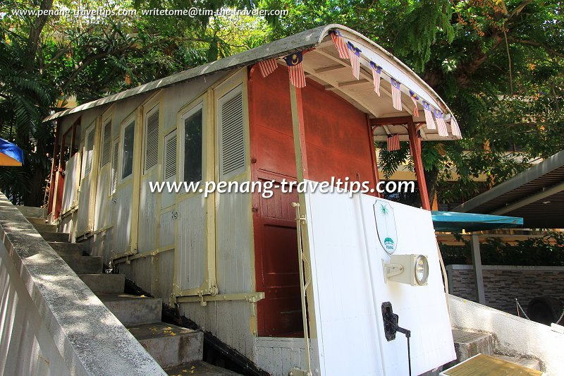 Old Penang Hill Coach at the Penang State Museum