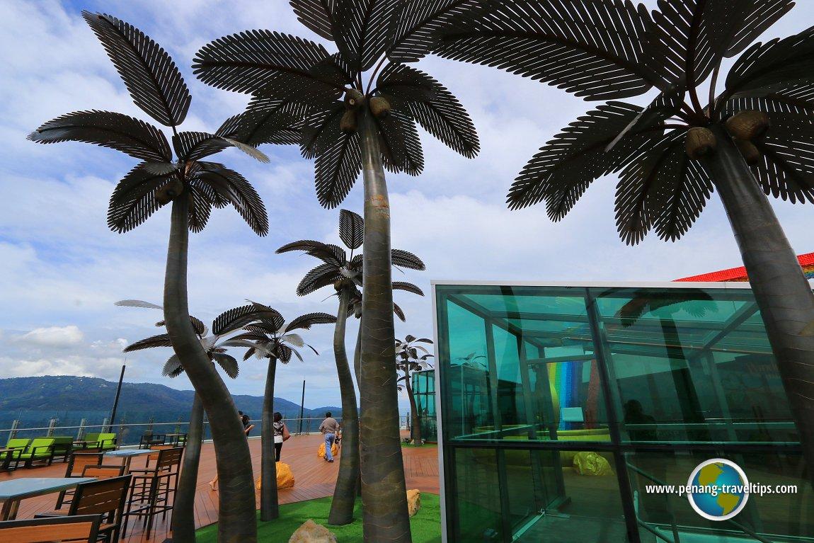 Outdoor Observatory Deck, The TOP, Komtar