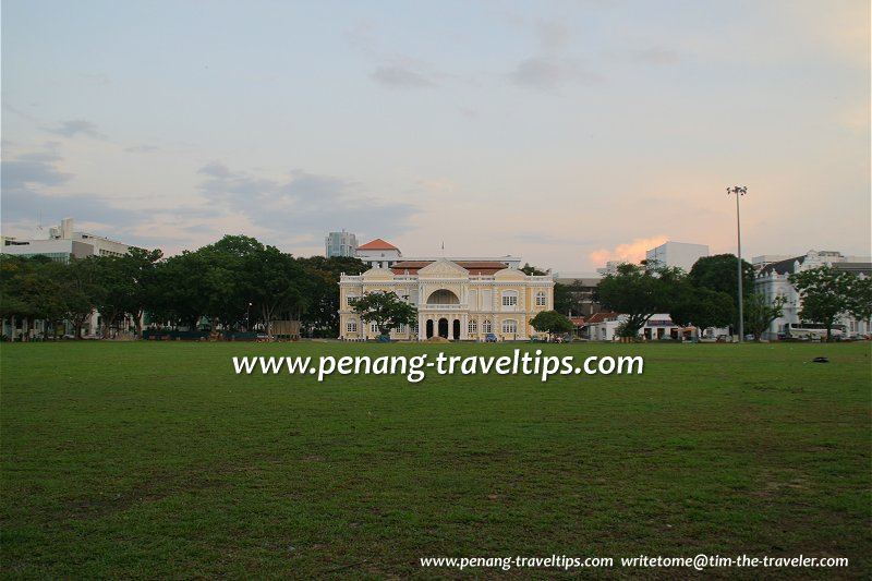 Padang Kota Lama George Town Penang Pulau Pinang