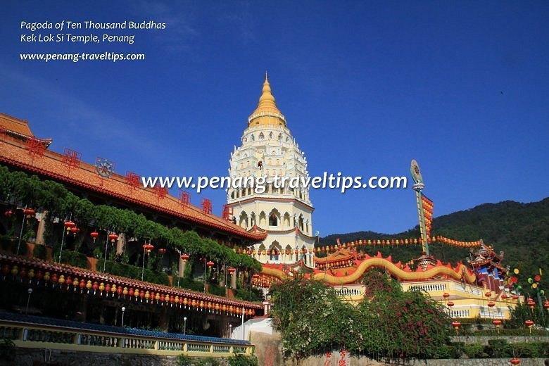 Pagoda of Ten Thousand Buddhas, Kek Lok Si Temple, Penang