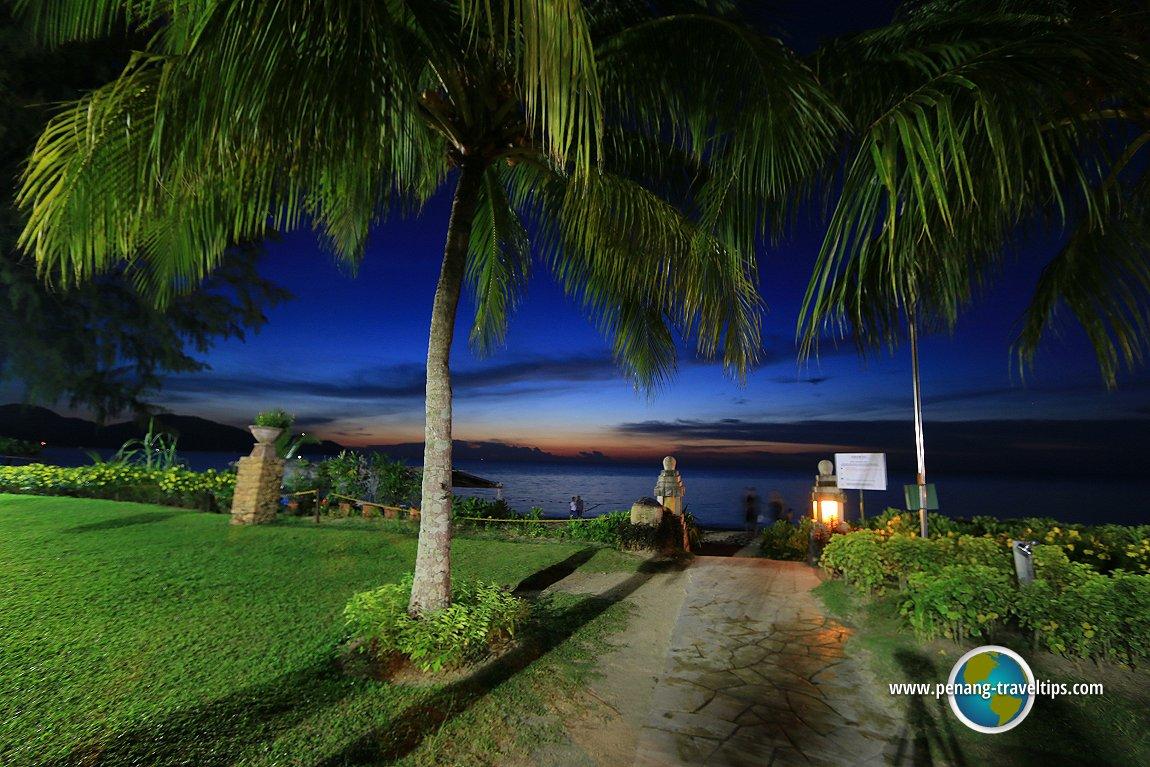 Sunset at Parkroyal Penang