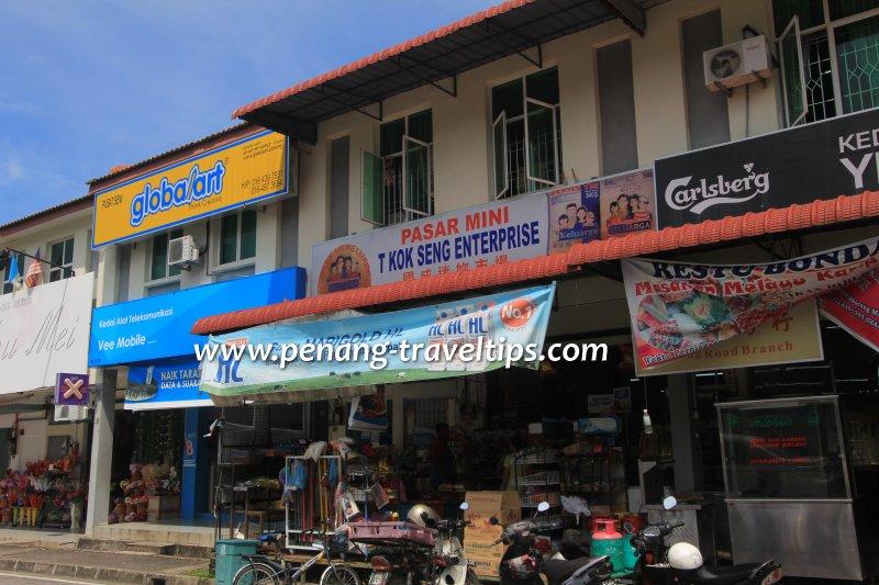 Pasar Mini T Kok Seng Enterprise, Balik Pulau