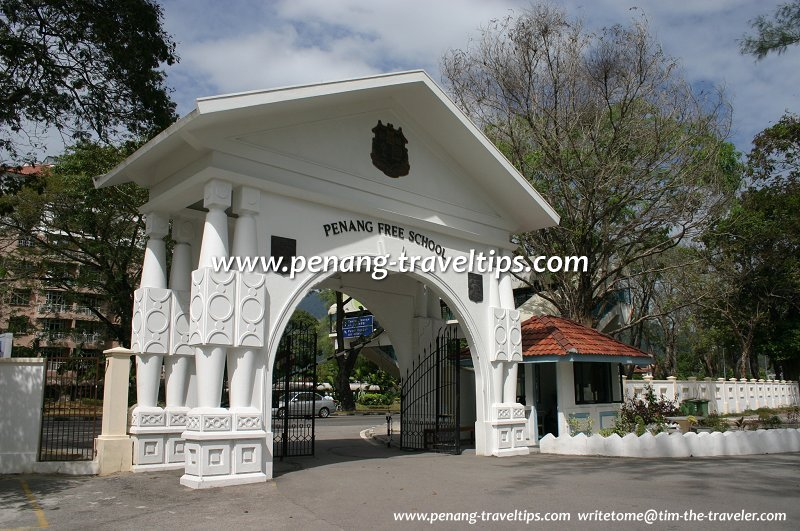 Penang Free School gate