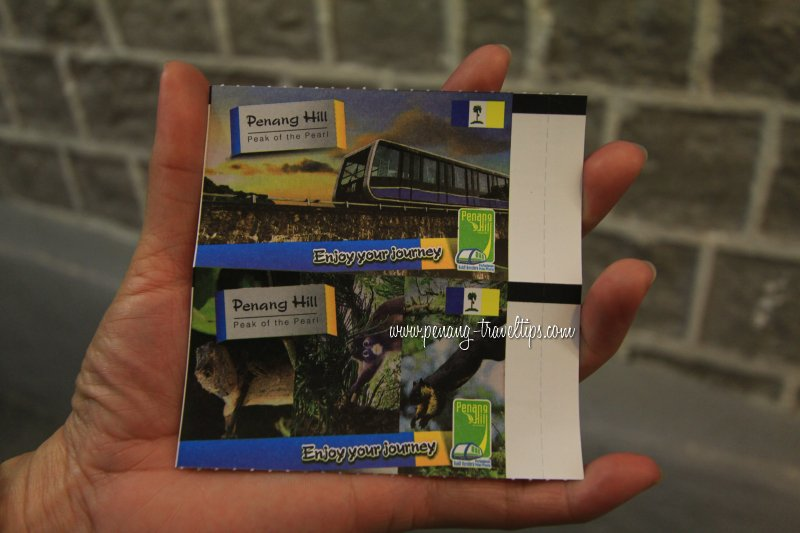 Penang Hill Railway Tickets