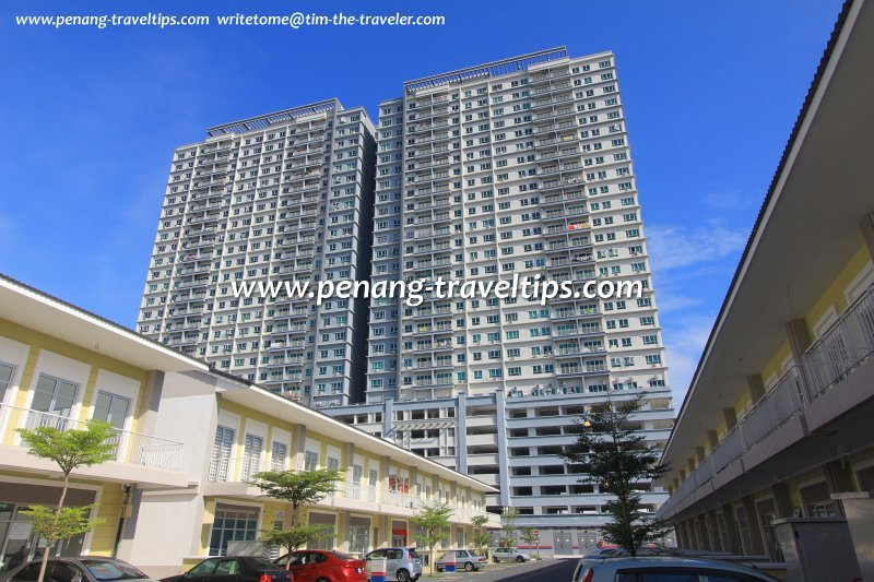 Penang private apartment rental