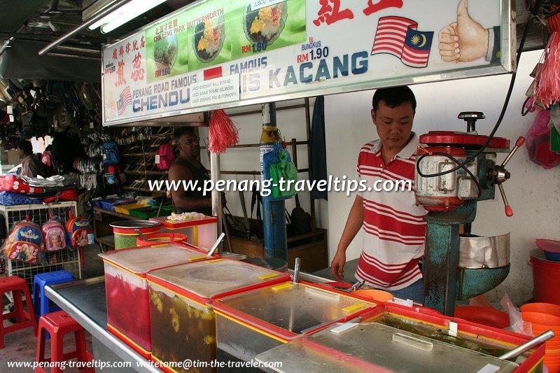 Penang Road Famous Chendul and Ais Kacang stall