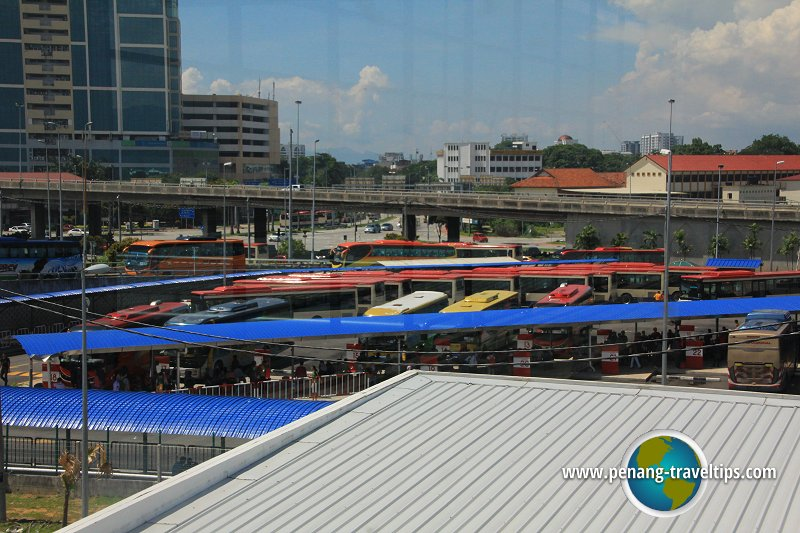 Temporary terminal for Penang Sentral