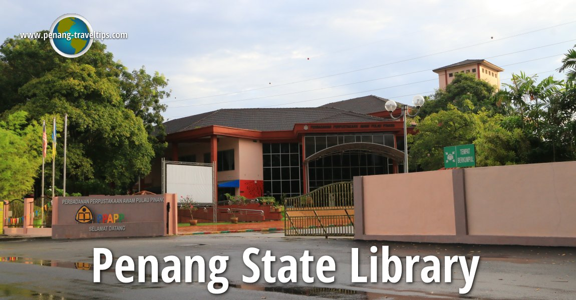 Penang State Library Seberang Jaya