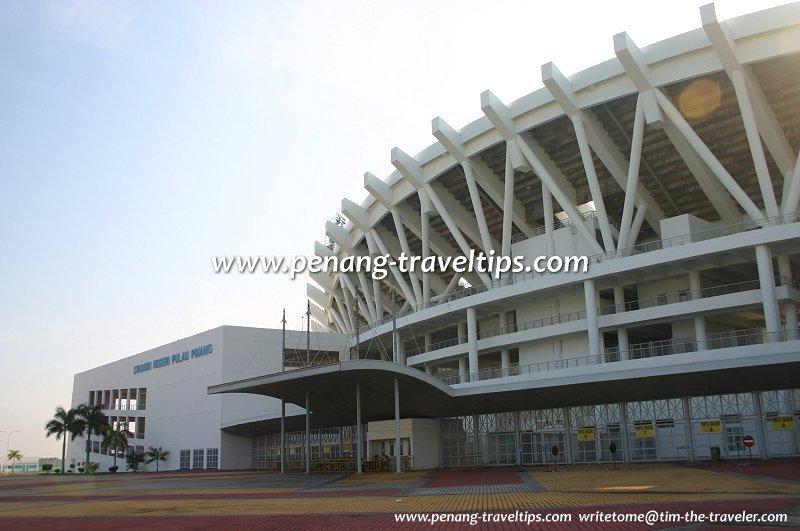 Penang State Stadium, main entrance