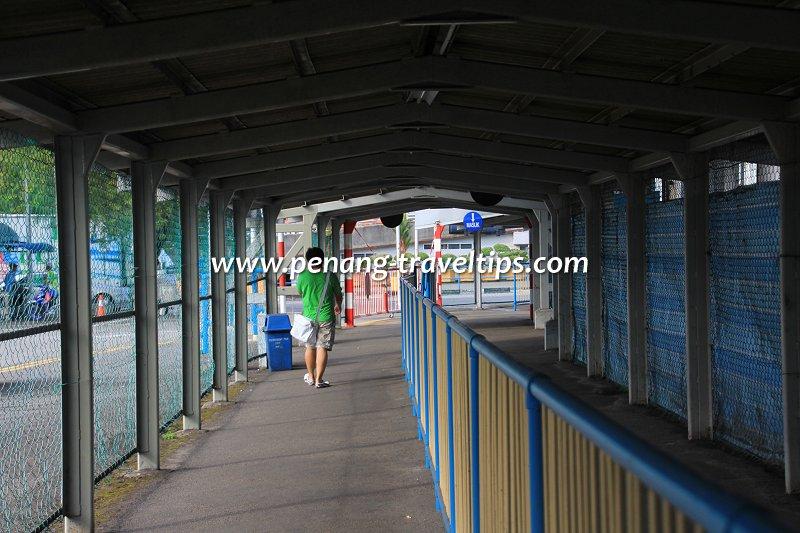 Pengkalan Raja Tun Uda passenger walkway