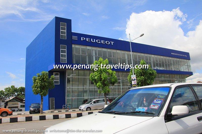 Peugeot Showroom, Jelutong, Penang
