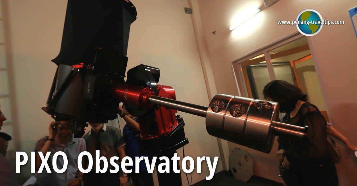 Pusat Astronomi PIXO di Tech Dome Penang