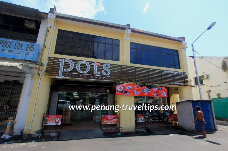 Pots Kitchenware, Kuala Kangsar Road, George Town